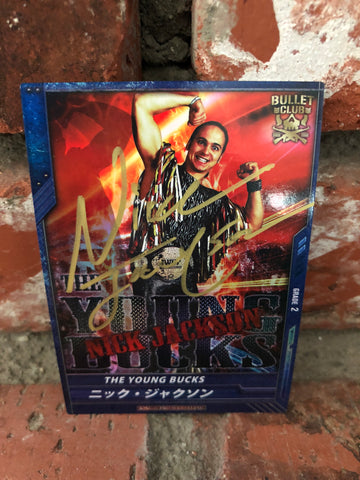 The Young Bucks Bullet Club (NJPW) Trading Card