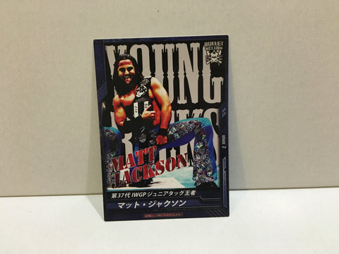 Matt IWGP Champ (NJPW) Trading Card