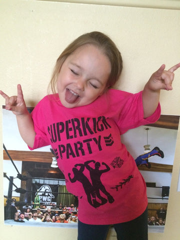 Kids Superkick Party Pink