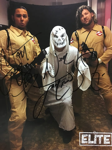 "The Elite ""Ghostbusters"" Autographed 8x10"