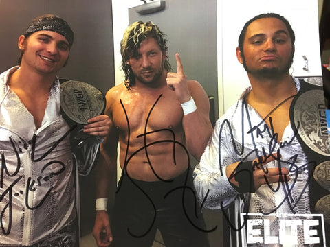 "The Elite ""The The Elite"" Autographed 8x10"