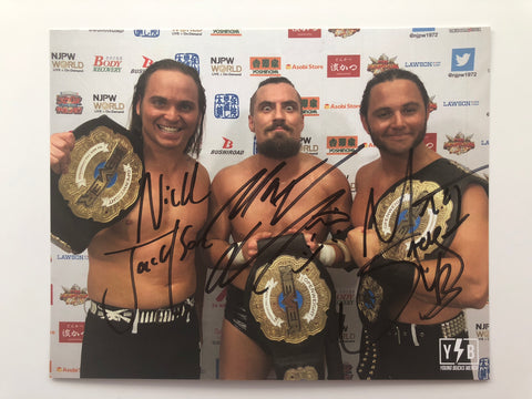 Super Villains Champs Autographed 8x10