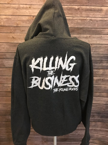 Killing the Business Zippered Hoodie