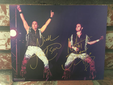 Young Bucks Electric Entrance 8x10 Autographed