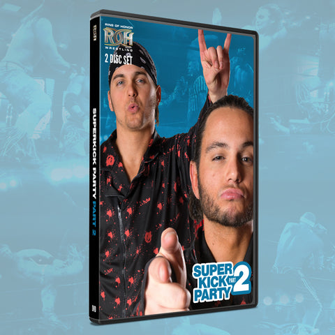 ROH THE YOUNG BUCKS: SUPERKICK PARTY PART 2 (2 DISC DVD)