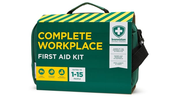 Brenniston National Standard Complete Workplace First Aid Kit is an ideal high-performance kit for various workplaces