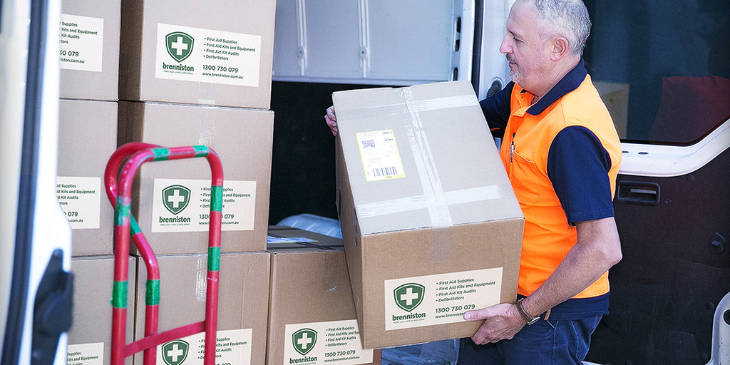 Brenniston National Standard Workplace First Aid & Safety - Brenniston Shipping & Returns