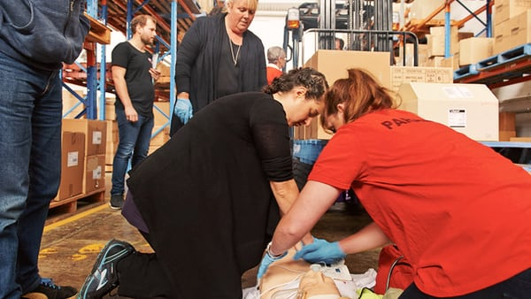 Workplace first aid training is a legal requirement in Australian workplaces
