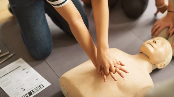 Advantages of workplace first aid training include reducing repeat accidents