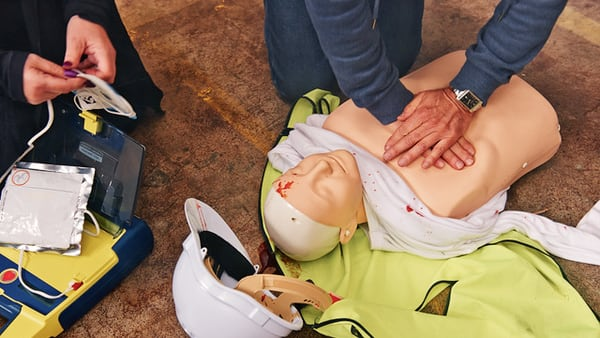 Workplace first aid training helps workers learn to be more conscious of safety in the workplace