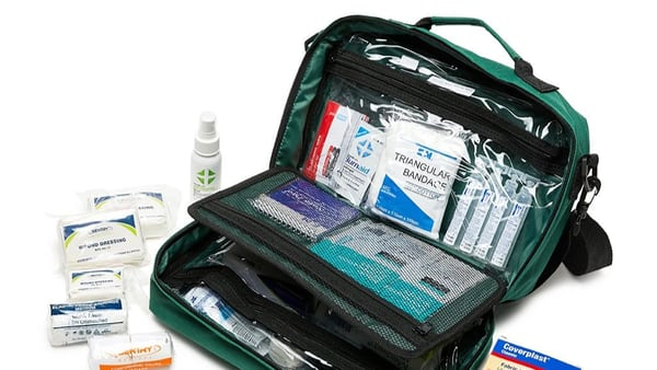 A suitable workplace first aid kit is a critical component of any workplace training course