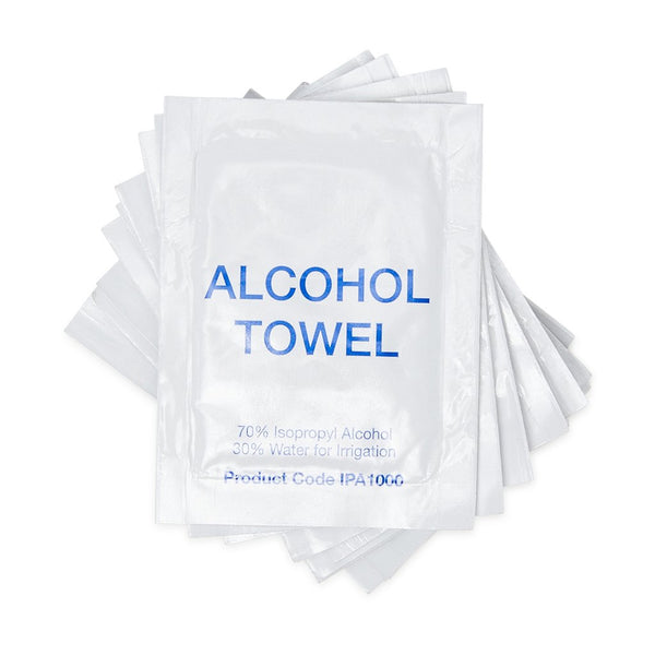 Alcohol Towel Sachets (1000) - Brenniston