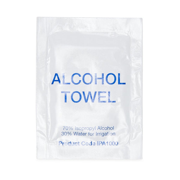 Alcohol Towel Sachets (100) - Brenniston