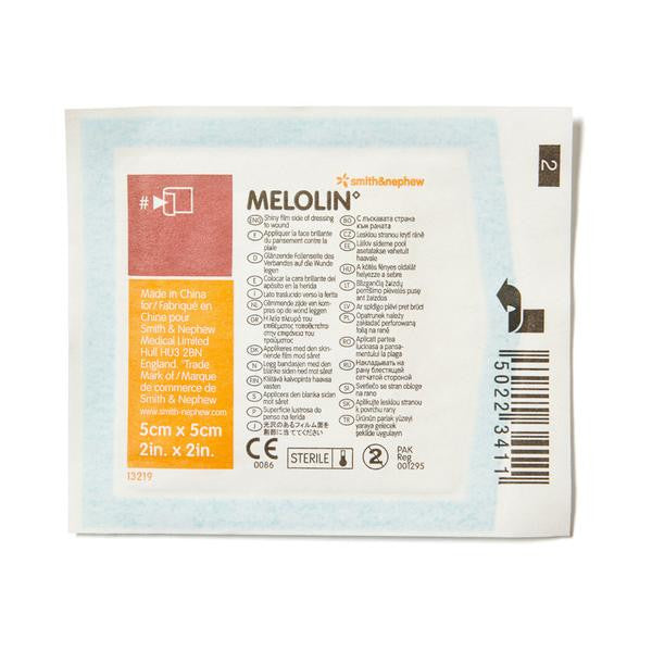 Melolin Low-adherent Dressing 5cm x 5cm