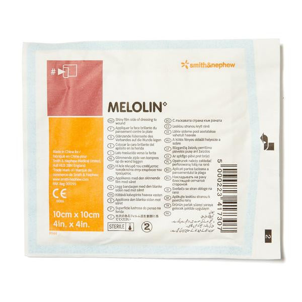 Melolin Low-adherent Dressing 10cm x 10cm