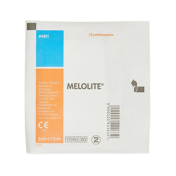 Melolite Low-adherent Dressing 5cm x 7.5cm - Brenniston
