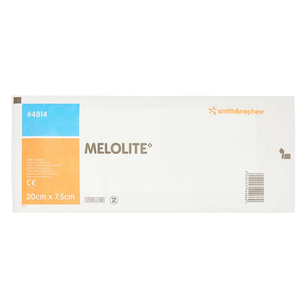 Melolite Low-adherent Dressing 7.5cm x 20cm - Brenniston