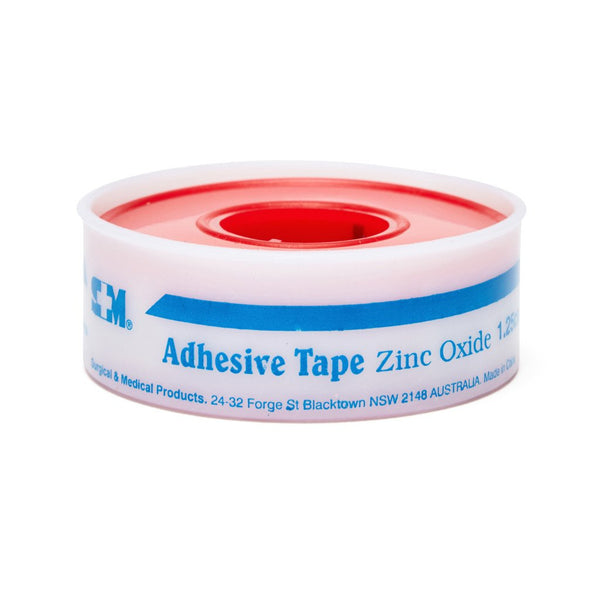 Zinc Oxide Tape 1.25cm x 5m - Brenniston
