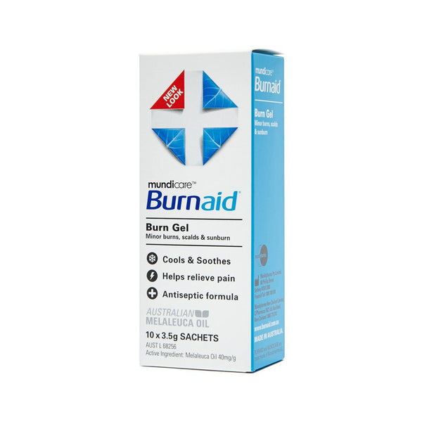 Burnaid Gel Sachet 3.5g (10) - Brenniston