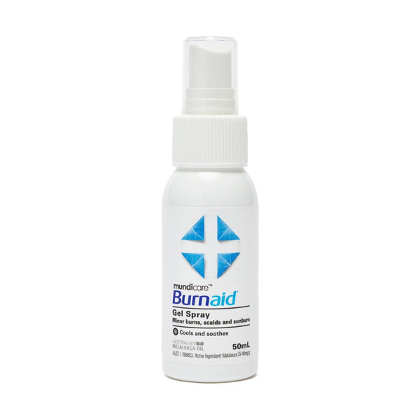 Burnaid Gel Spray 50ml - Brenniston