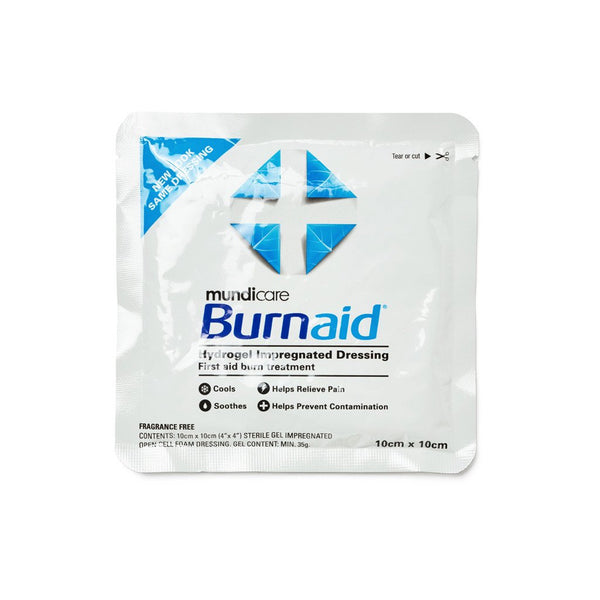 Burnaid Dressing 10cm x 10cm - Brenniston