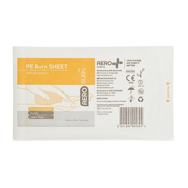 Burn Sheet Polyethylene 10cm x 10cm