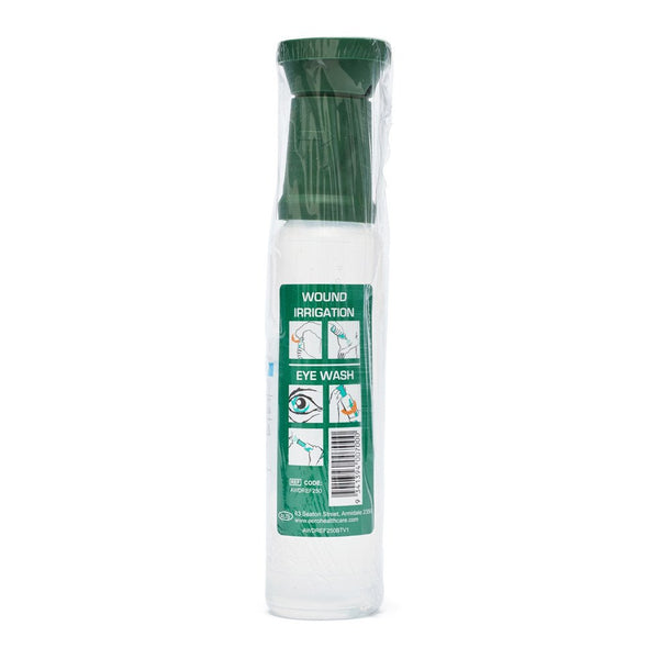 Eyewash Saline with Eye Cup 250ml - Brenniston