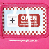 Medical Emergency ID Pouch - Pink - Small - Brenniston