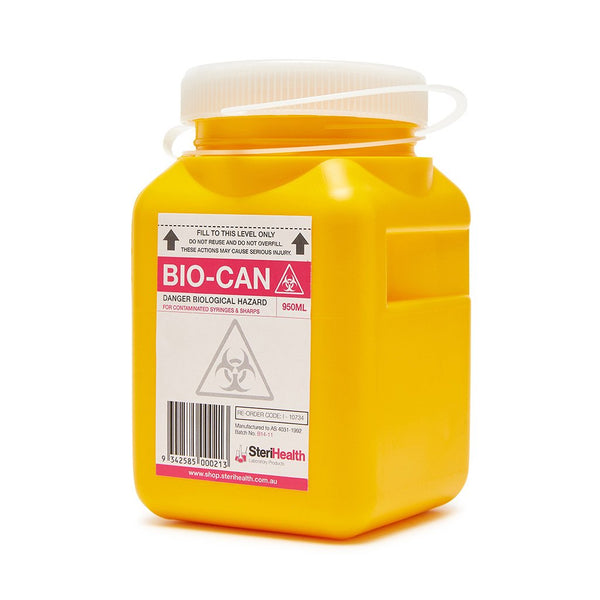 Sharps Container 950ml - Brenniston