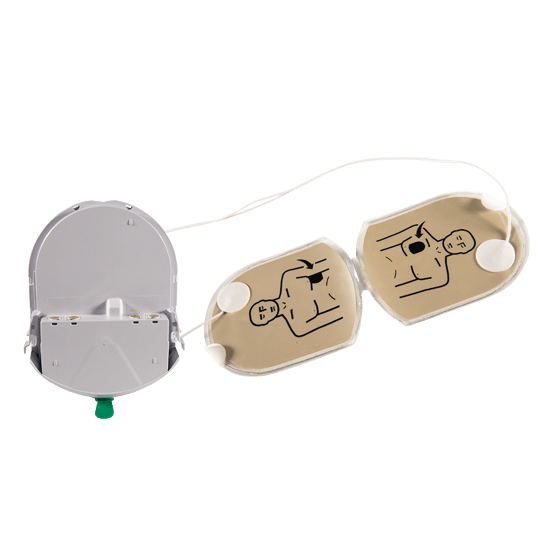 Heartsine Adult Electrode/Battery Pad Pak for Heartsine 500P Defibrillator (AED) - Brenniston