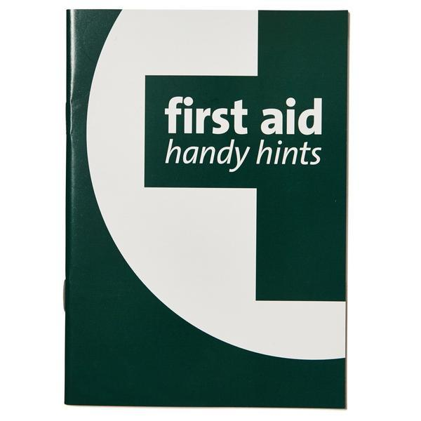 First Aid Handy Hints Booklet
