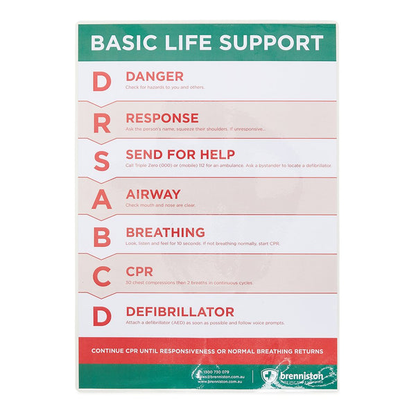 Basic Life Support Flowchart - Brenniston