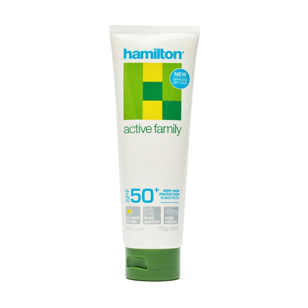 Hamilton Sunscreen 50+ 110g - Brenniston