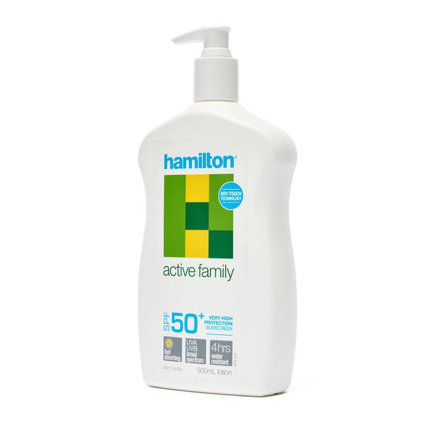 Hamilton Sunscreen 50+ 500ml