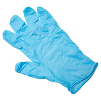 Nitrile Glove Disposable Powder Free Blue Large (5 Pair) - Brenniston