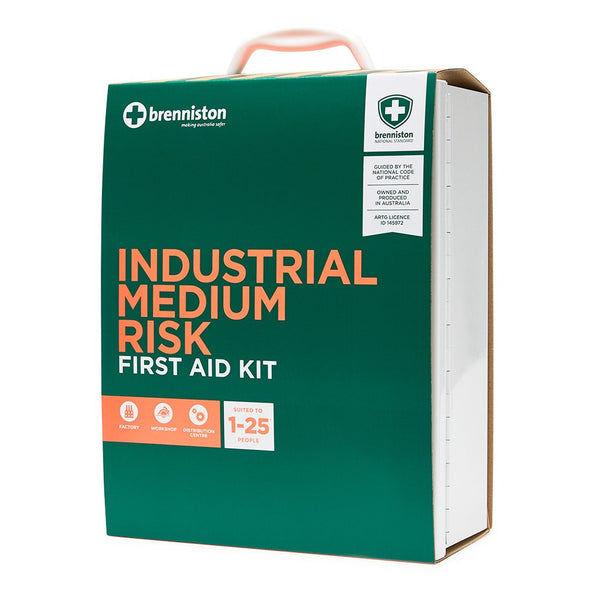 Brenniston National Standard Industrial Medium Risk First Aid Kit - Brenniston