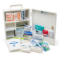 Brenniston Medium Risk Workplace First Aid Kit Plastic Cabinet
