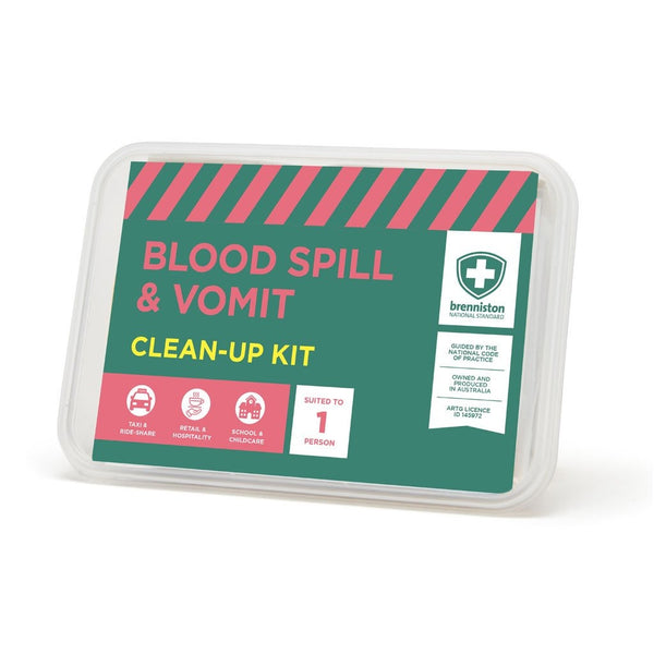 Brenniston National Standard Blood Spill & Vomit Clean-Up Kit