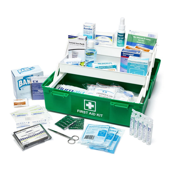 Brenniston National Standard Food Handling Large Portable First Aid Kit