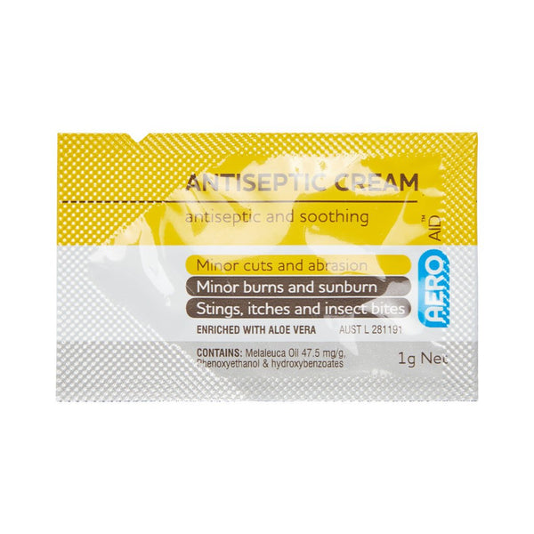 Antiseptic Cream Sachet 1g (1) - Brenniston