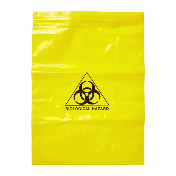 Bio Hazard Bag 300mm x 250mm - Brenniston