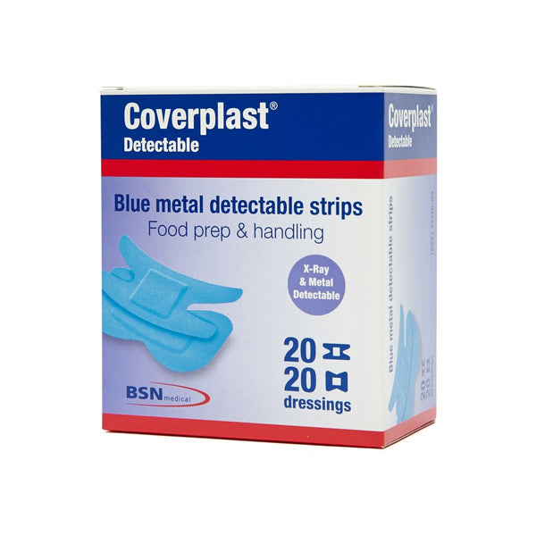 Blue Detectable Dressing Fingertip/Knuckle (40)