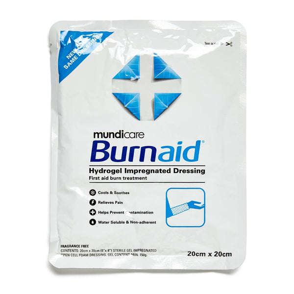 Burnaid Dressing 20cm x 20cm - Brenniston