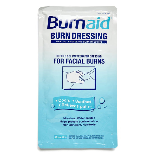 Burnaid Dressing For Facial Burns - Brenniston