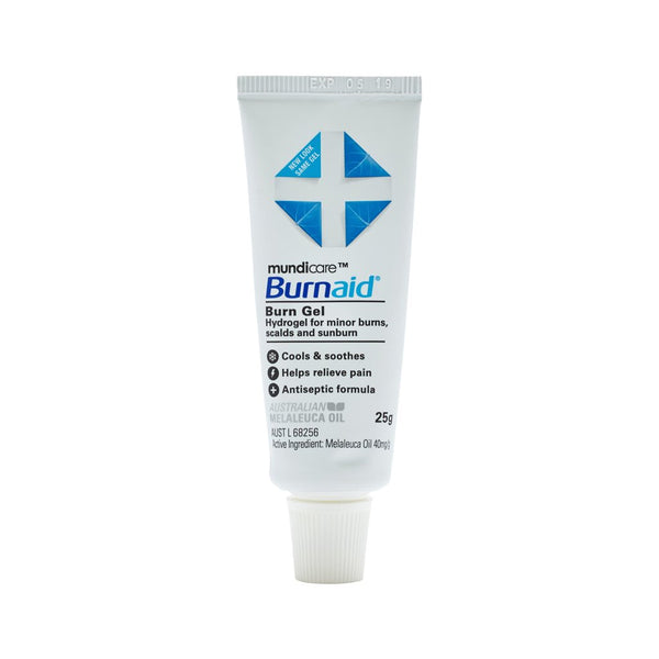 Burnaid Gel Tube 25g - Brenniston