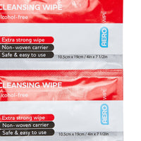 Cleansing Wipe Alcohol Free (10) - Brenniston