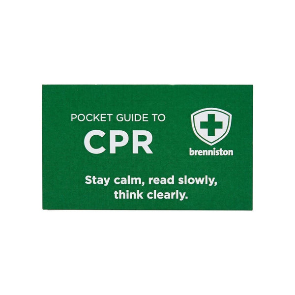 CPR Emergency Pocket Guide - Brenniston