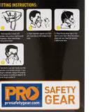 Dust/Mist Respirator P2 Disposable (20)