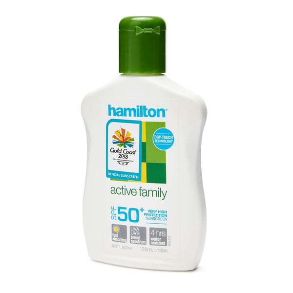 Hamilton Sunscreen 50+ 125ml