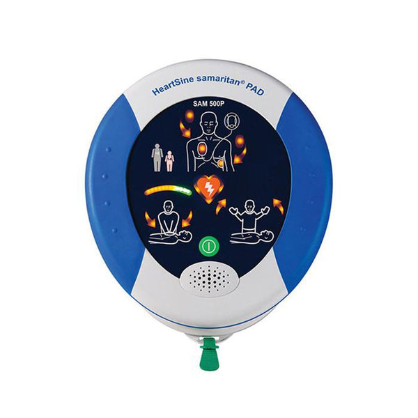 HeartSine Defibrillator (AED) 500P with CPR Advisor - Brenniston